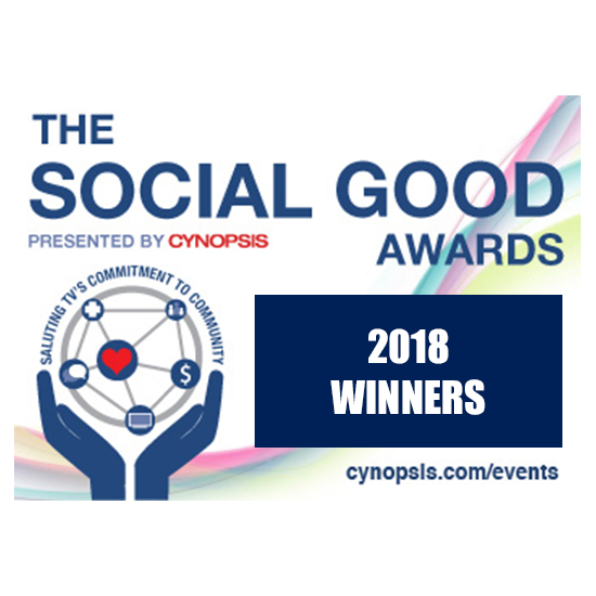 Cynopsis Social Good Award Winner 2018